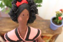 donaflorinda_ / fofurices... tiaras, laços para cabelo, bonecas Tilda, feltro em geral