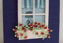 Kaarten, raam