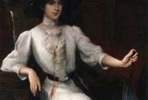 women's portraits 1900-1910