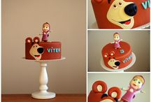 masa /bear cake