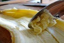 Casca de banana e suas utilidades
