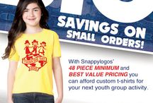 Custom T-Shirts / With our BEST VALUE PRICING, you can afford t-shirts for your next youth group activity!