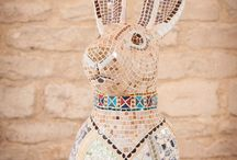 Corinium Hares / To celebrate the Cirencester March Hare festival we'd like to share some of the hares featured in the Corinium Museum collection.