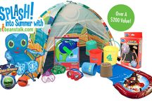 Splash! into Summer Giveaway! / Our SPLASH! into Summer Giveaway offers a prize basket with the BEST summer toys – a $200 value!