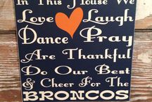 BRONCOS / Denver Broncos all day erryday!!!!!