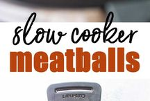 Slow cooker Meat balls