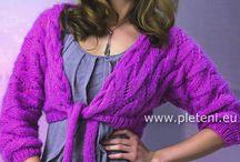 Pletení - návody na svetry
