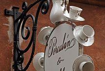 Tea Garden Signs