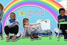 FRESH IDEAS FOR PARENTS WITH TODDLERS / ➜ Perfect for all PARENTS with Toddlers! The Todpod Bag - World's 1st and only Table & Chair in a Bag.
