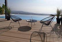 Terrasses et piscines