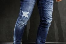 Men's jeans style