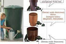 Zbiornik na deszczówkę / Strona o zbiornikach na deszczówkę pokazuje dostępne modele, przykłady zastosowań oraz korzyści z ekologicznych zastosowań.