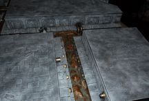 Gaming Table Ideas / Ideas for creating a gaming table using Hirst Arts molds