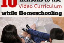Video Currículos Homeschooling / Recursos para educar en el hogar con videos. / Resources to homeschool with videos.