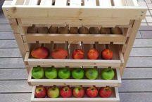 Gyümölcs tároló