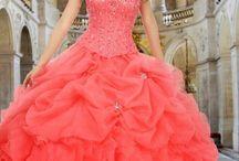 vestido de fiesta de quinceañera