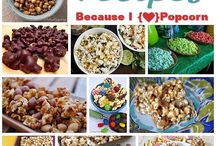 Popcorn / Did you know there were so many ways to eat popcorn?!?