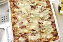 Chicken wing lasagna