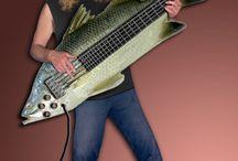 bass/guitars / by Sandy Bodecker
