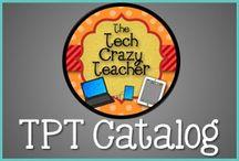 T3 Tech Crazy Teacher TPT Store / Tech Crazy Teacher Catalog and Products