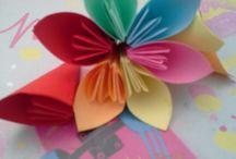 Origamie Blume
