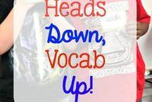 vocabulary tasks