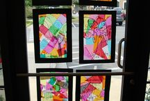 arte na janela Windows art