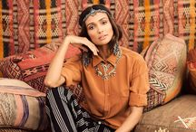 Orientalische Mode / Marokko, Indien...