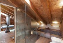 Slaapkamers op zolder