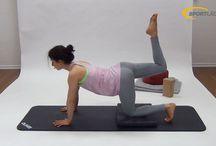 Yoga / Yoga Übungen und Bilderreihen zu Asanas mit unterschiedlichen Schwerpunkten