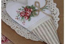 cross stitch inspiration / cross stitch home decoration