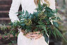 Green Wedding-bukett