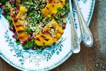 Food | Salad delights / Summer salads, meals and yummy ideas