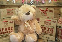 Cute Teddy Bear and Friends