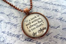 Book Quotes / Quotes about reading or from some of our favorite books.