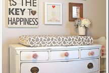 baby girl room / by Ashley Johnson