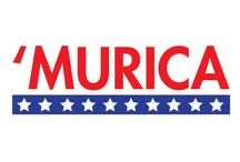 'Murica / All things Red, White and Blue. Patriotic temporary tattoos, gift ideas, and more.