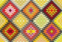 Personal patchwork patterns / These are personal designs ! Please : ask me if you want to use them !