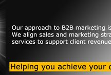 B2B Marketing / We've been using our experience and expertise to advise, devise and execute successful B2B campaigns for clients since 2003.  But the experience of our team goes far beyond that.  In fact, we bring more than 50 years of practical, results-driven B2B sales and marketing experience to our clients