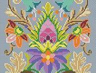 barevný ornament