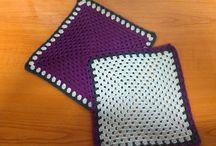 Dekorace - dečky, panenky na láhev... /Crocheted decorations - moje práce / moje ruční práce