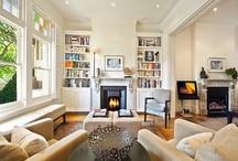 House Ideas - Bookshelves - built in