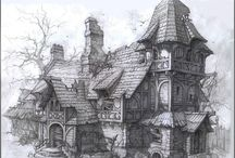 Medieval/Fantasy buildings
