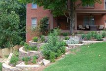 landscaping/gardening / by Amy Stender