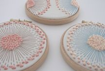 pastel embroidery