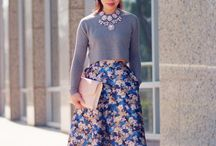 My DIY inspiration - Skirts/Dresses