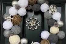 венки на дверь