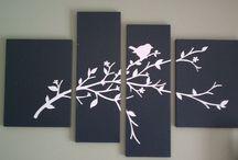 Cut out canvas