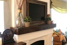 Family Room / book shelves / by Kelly Jenkins