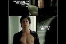 Salvatore Sickness / Anything Salvatore or vampire diaries related  / by Staci Blank